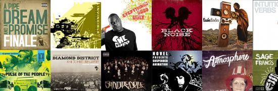 Best Hip Hop Albums of 2009