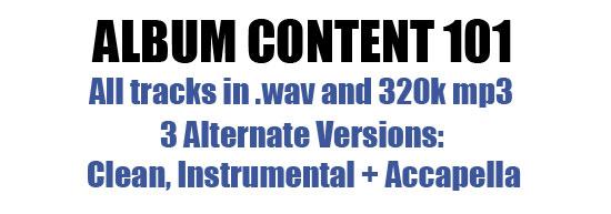 Album Content 101