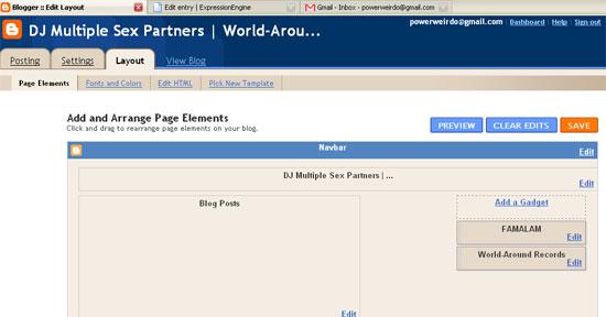 Customizing Blogger Layout