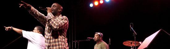 De La Soul live onstage