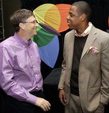 Bill Gates Sponsors Audible Hype