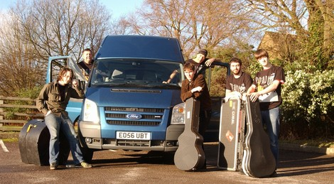 On Tour in the Van